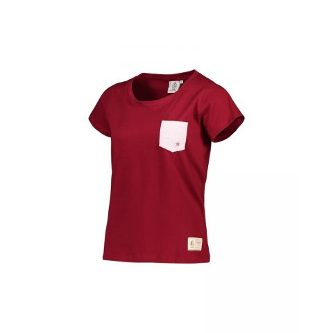 T-SHIRT BORDEAUX JR