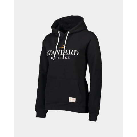 SWEAT A CAPUCHE NOIR JUNIOR