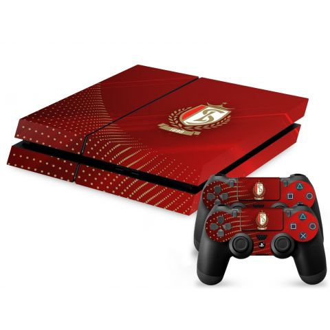STICKER ROUGE PS4
