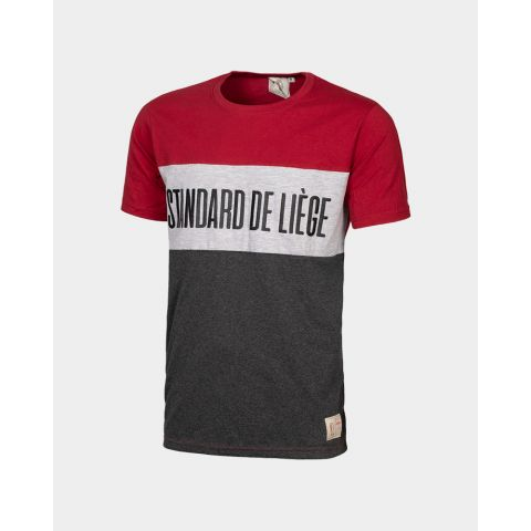 TSHIRT BLOCK RED JR