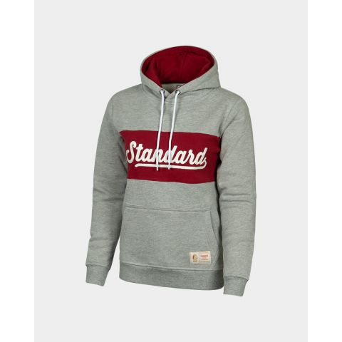 HOODY BLOCK GREY WOMEN