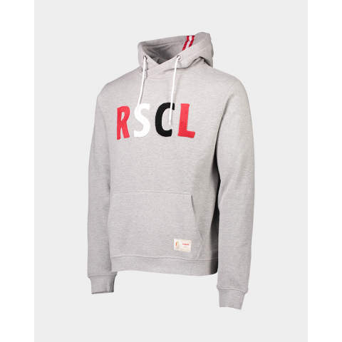 SWEAT À CAPUCHE GRIS RSCL JR