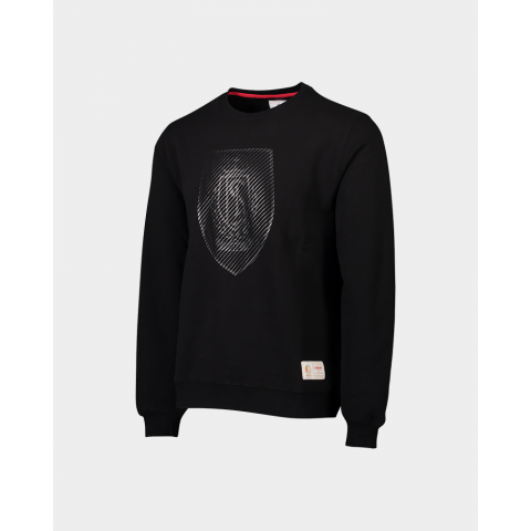SWEAT NOIR BLASON