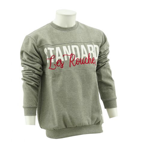 SWEAT GRIS LES ROUCHES